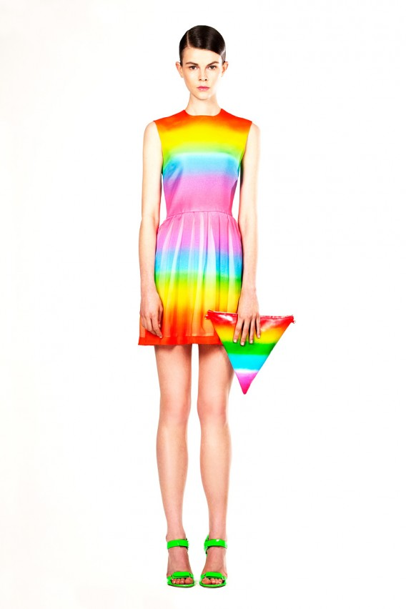 Christopher Kane Rainbow Dress