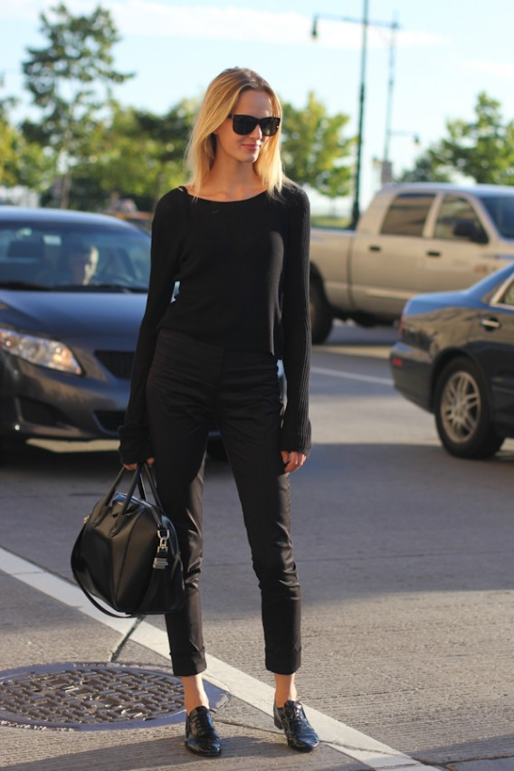 New York Street Style: How to Wear All Black