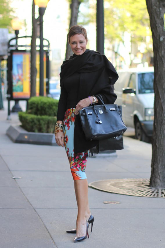 Colette May in Givenchy Resort