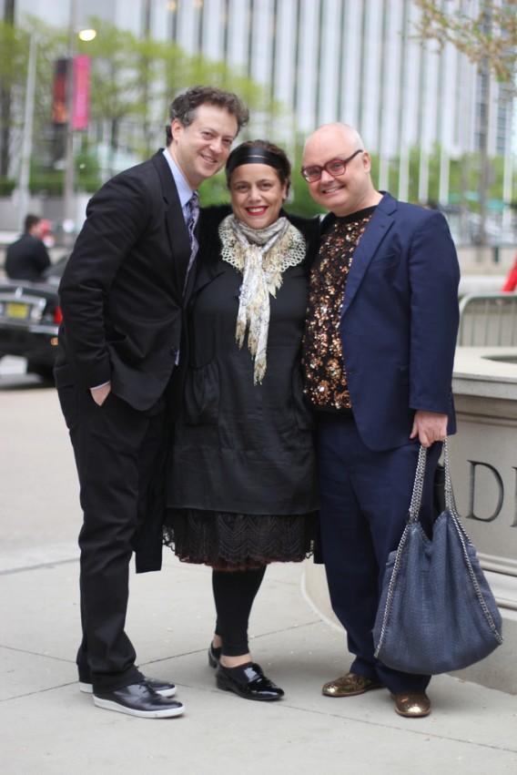 Josh & Ikram Goldman with Mickey Boardman