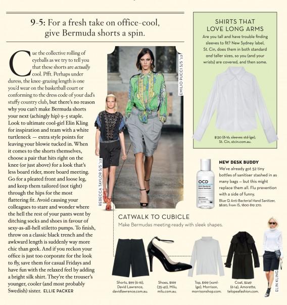 Elin Kling in Shop Til You Drop Magazine