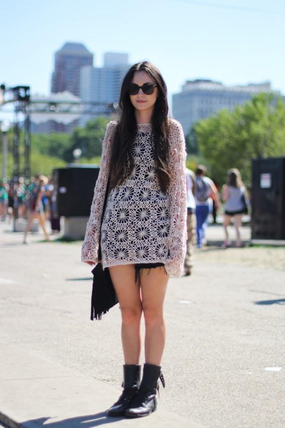 Lollapalooza... The Crochet Dress