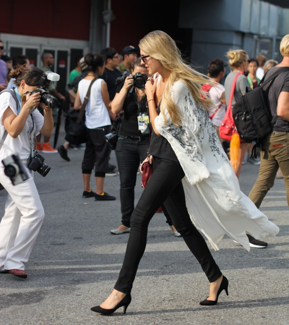 New York... The Kimono