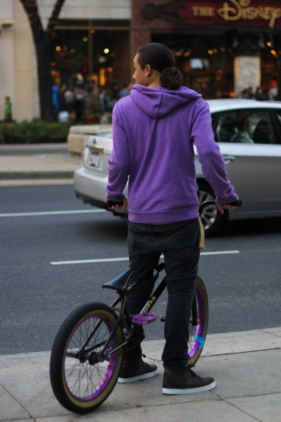 Michigan Avenue... Candid: BMX