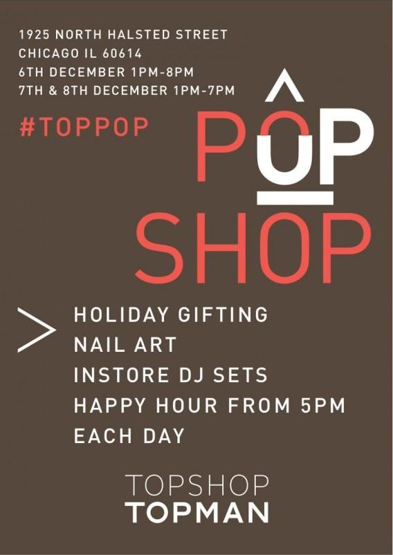 Topshop's Lincoln Park Pop Up Shop