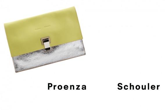 Proenza Schouler Lunchbag Clutch