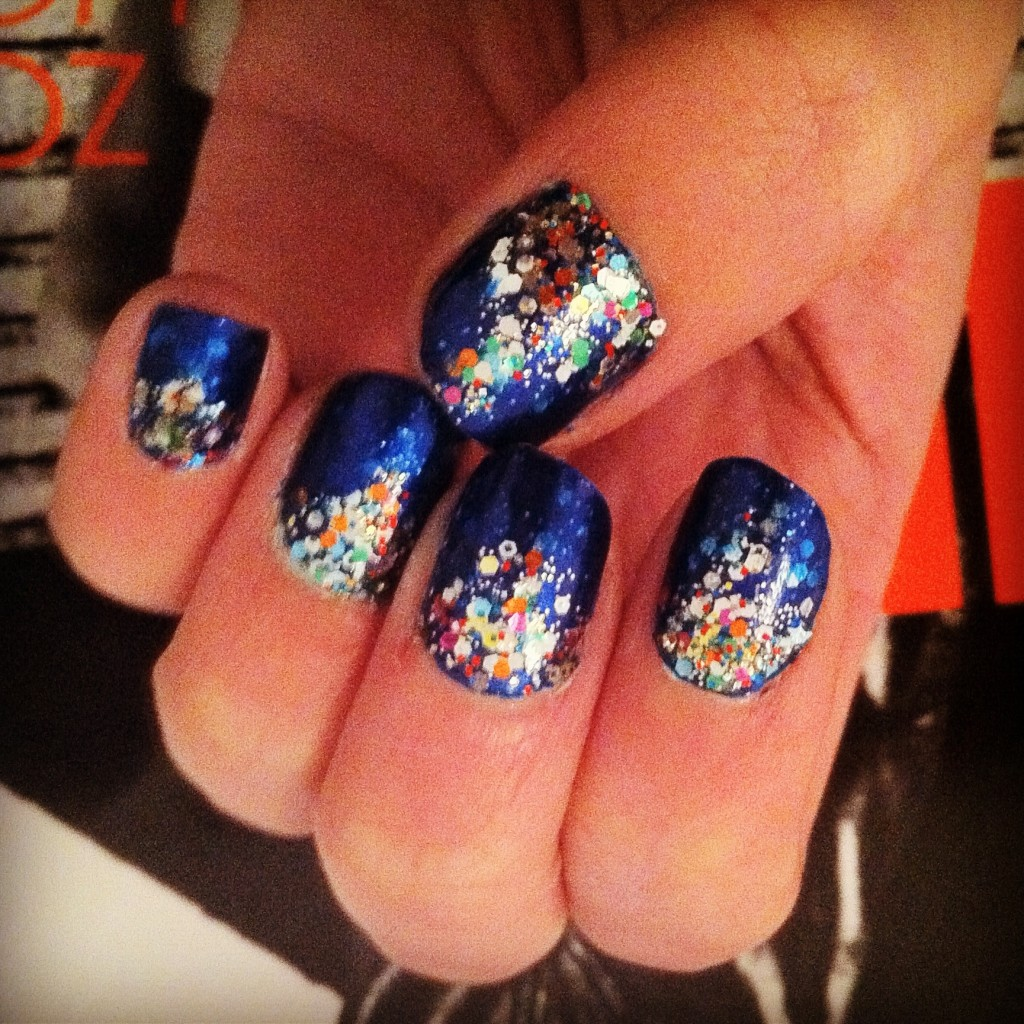 DIY: My Ocean Themed Manicure | Amy Creyer's Chicago ...