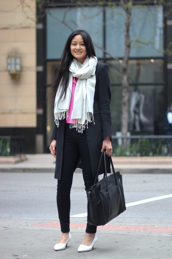 Leisia in Celine | Amy Creyer\u0026#39;s Chicago Street Style Fashion Blog