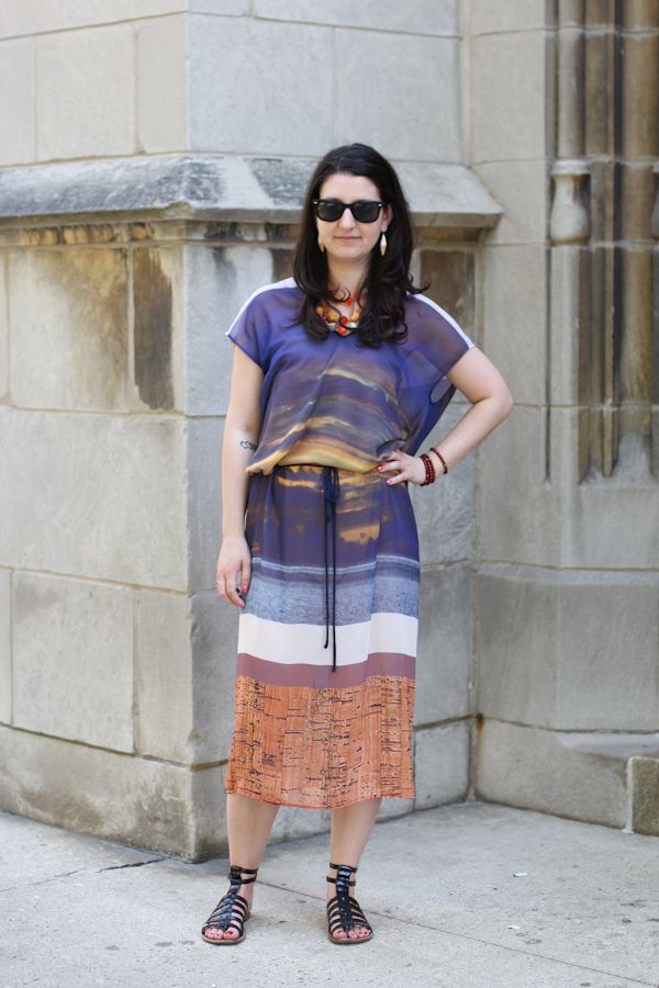 Personal Style Summer Is For Sunsets Amy Creyer 39 S Chicago Street Style Fashion Blog