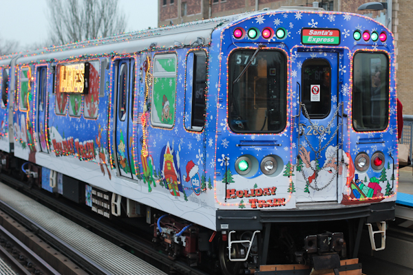 Special Feature… CTA Holiday Train! | Amy Creyer's Chicago Street ...
