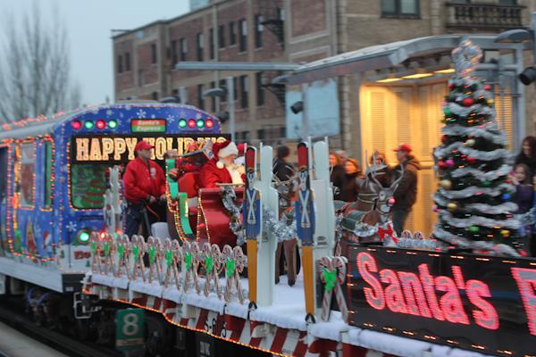 the - Cta Christmas Train 2014
