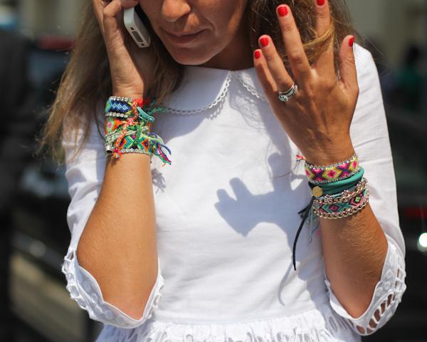 Street Style Dannijo Bracelets