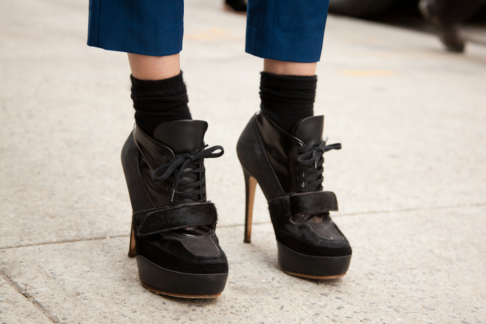 acne boots street style