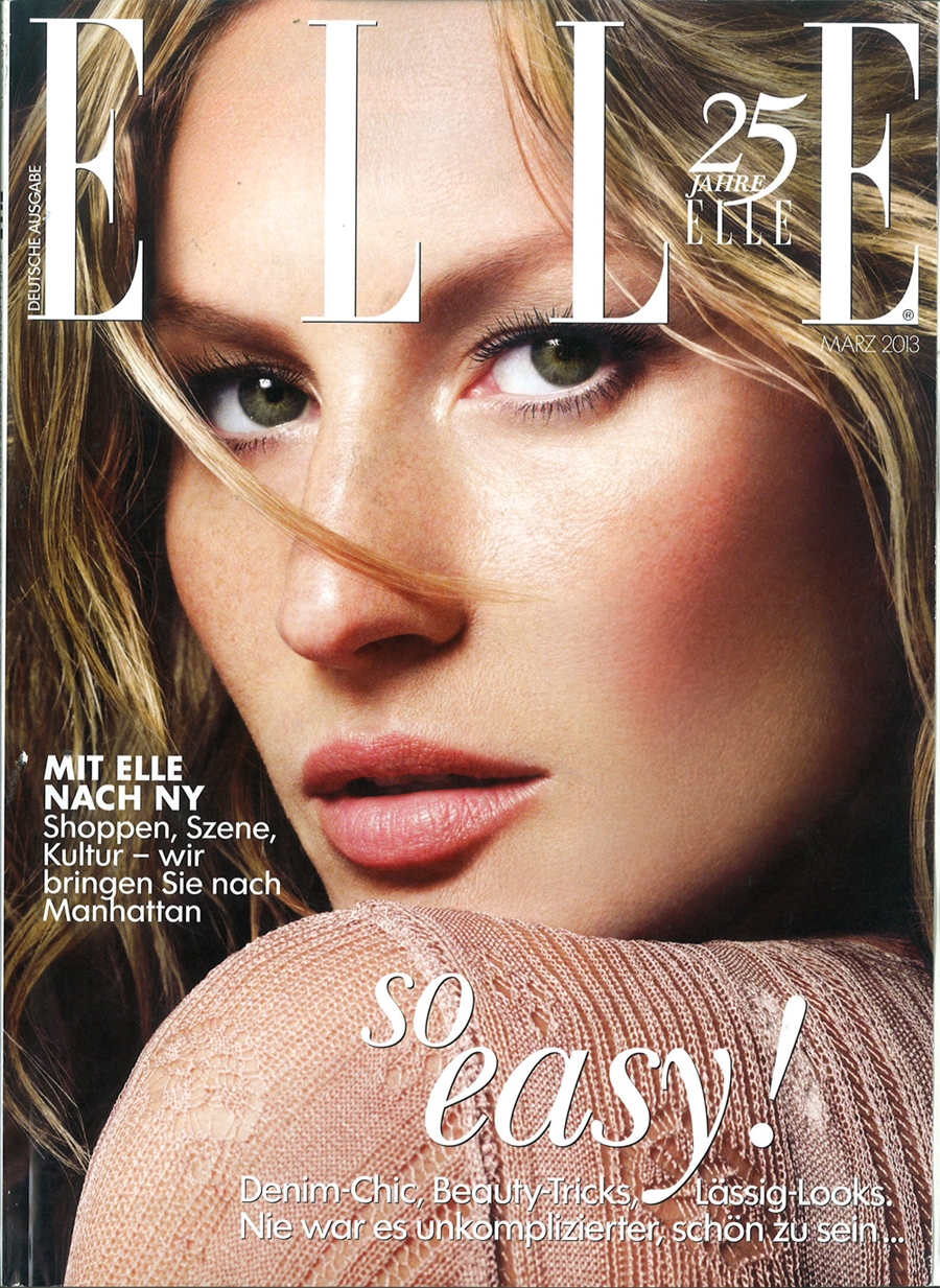 German Elle March 2013 Cover-900